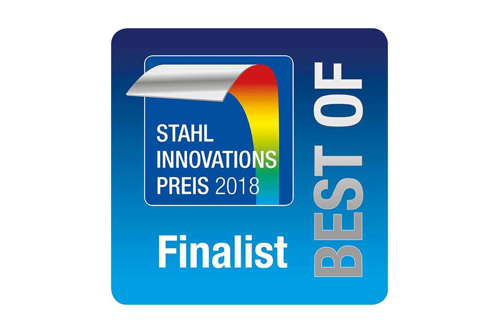 """Ocenění """"Stahl Innovationspreis"""" pro společnost Schwank GmbH."""