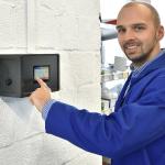 Technologie ovládání SchwankControl Touch od společnosti Schwank.